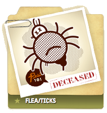 Flea/Ticks Deceased
