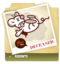 Rodents Deceased