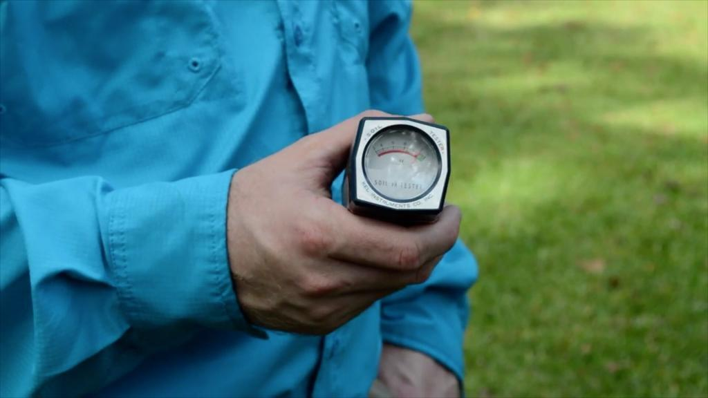 Fleming Island lawn, pH meters for lawns, lawn fertilization